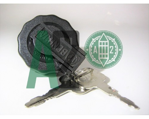 Пробка топливного бака (с ключами) Исузу NQR-71АНАЛОГ